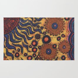 Summertime Batik Rug