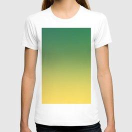 HIGH TIDE - Minimal Plain Soft Mood Color Blend Prints T-shirt