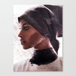 Jasmine Warsame Canvas Print