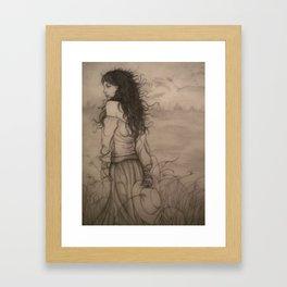 The Wind That Blew My Heart Away Framed Art Print