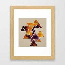 Tricertanty #3 Framed Art Print