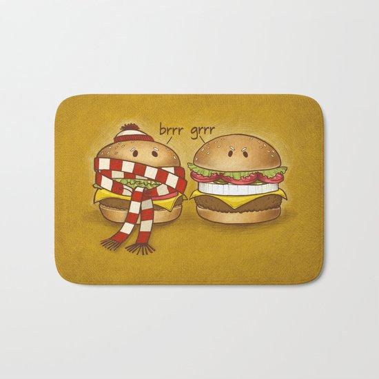 Fast Food Phonics Bath Mat