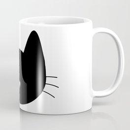 Cat Heart Nose Coffee Mug