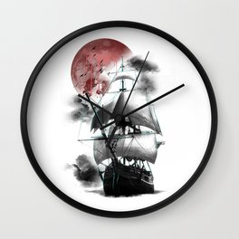 Journey to the Outworld II Wall Clock