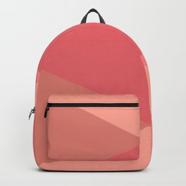 Rose Triangles Backpack