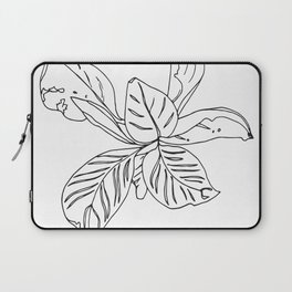 PLANT PORTRAITS - ORNATA PINSTRIPE - COOPER  AND COLLEEN Laptop Sleeve
