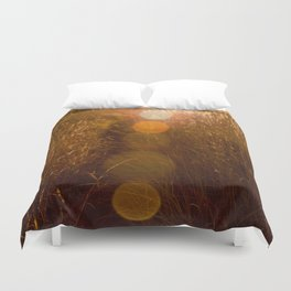 into the sun Duvet Cover