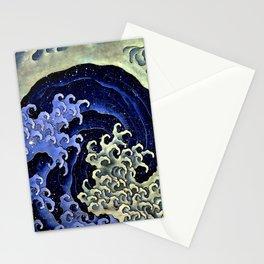 """Hokusai (1760–1849) """"Femenine wave"""" Stationery Cards"""