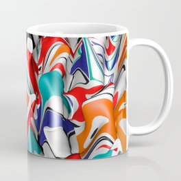 Trippy Pop Fluid II Coffee Mug