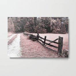 Pink landscape Metal Print