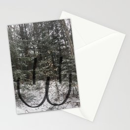 Woods Mew Face Stationery Cards