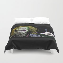Qualified? Duvet Cover