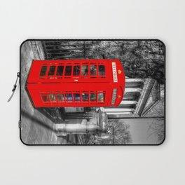 London Red Telephone Box Laptop Sleeve
