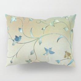 Bird Play Pillow Sham