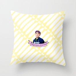 TEMPERANCE BRENNAN Throw Pillow
