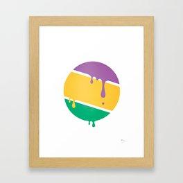 PLANET ZOG Framed Art Print