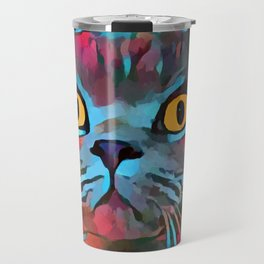 British Shorthair Travel Mug