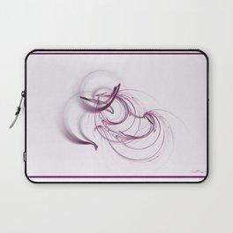 Lavender Swirls Laptop Sleeve