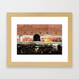 Stars in the Wall Framed Art Print