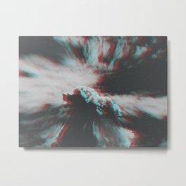 Cloudophobia Metal Print