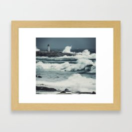 Heaving Seas of Arthur Framed Art Print