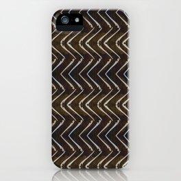 Bone Chevron iPhone Case