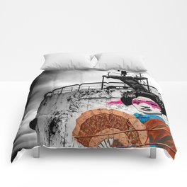 Geisha Graffiti Comforters