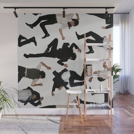 Self-Portrait as Victim/Self-Portrait as Martyr (2013) Side A Wall Mural