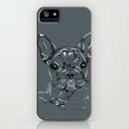 Sketchy Frenchie iPhone Case