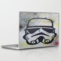 trooper Laptop & iPad Skins featuring Trooper by Cyndi Sabido