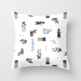 Hanzo Chibi Collection Throw Pillow