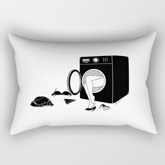 Washing Bad Memories Rectangular Pillow