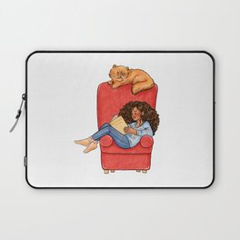 Reading fictional characters: Hermione Laptop Sleeve