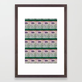 Pelican Pattern (b) Framed Art Print