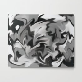Smoke to it Metal Print