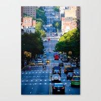 Uptown No. 4 Canvas Print
