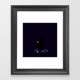The Happy Flower Framed Art Print