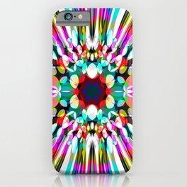 Hallucination flower iPhone Case