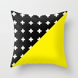 Memphis pattern 80 Throw Pillow