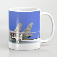 airplane Mugs featuring airplane by Bitifoto