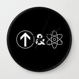 Up&Atom Wall Clock