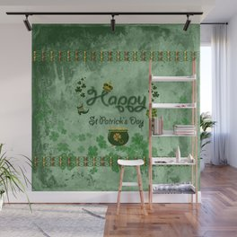 Happy St. Patrick's Day Wall Mural