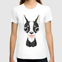 french bulldog T-shirts featuring French Bulldog by Freeminds