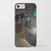 shadow of the colossus iPhone & iPod Cases featuring Shadow of the Colossus by MetroidHugs