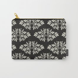 Foliage Black Carry-All Pouch