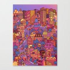 Tuna Plaza Canvas Print