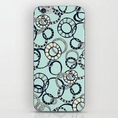 Honolulu hoopla pale blue iPhone & iPod Skin