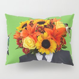 Flower Man Pillow Sham