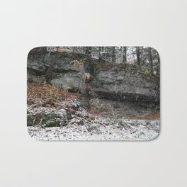 A Fall Day in New England Bath Mat