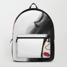 The Ghost of Christmas Yet to Come - Charles Dickens A Christmas Carol - Selfie Backpack